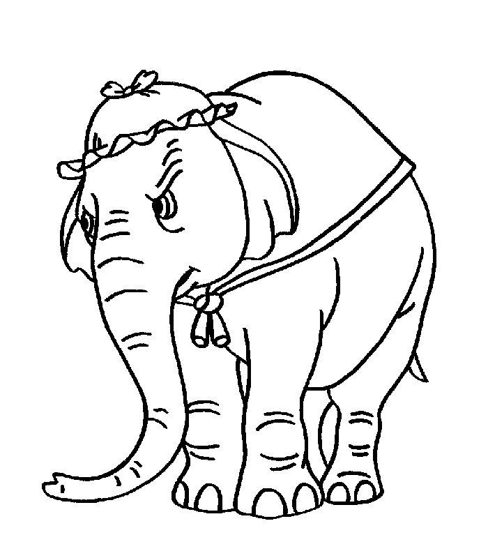 Dumbo Disegni Per Bambini Da Colorare