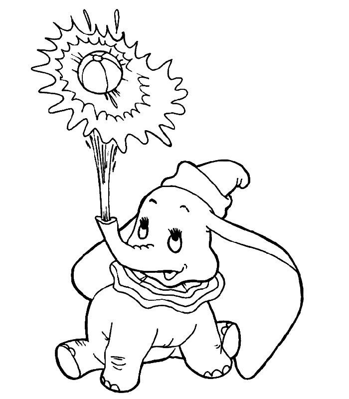 Disegni Per Bambini Da Stampare E Colorare.Dumbo Disegni Per Bambini Da Colorare