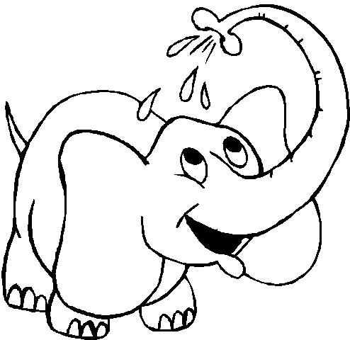 Elefanti 6 Disegni Per Bambini Da Colorare
