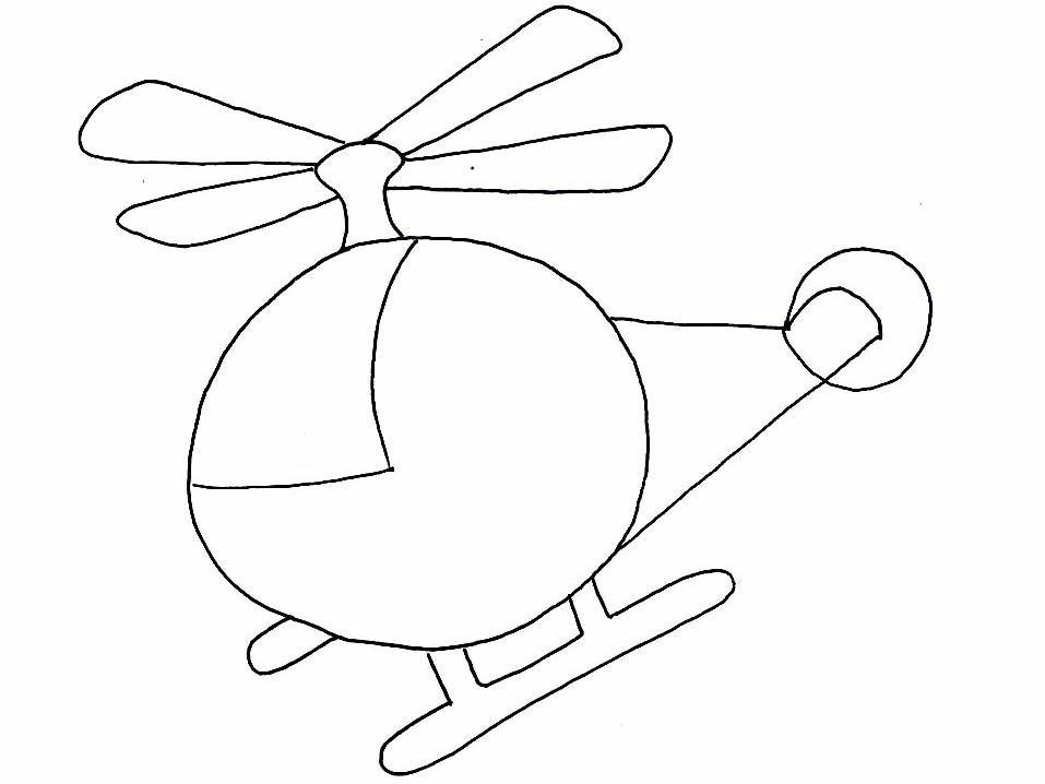 Elicotteri Disegni Per Bambini Da Colorare