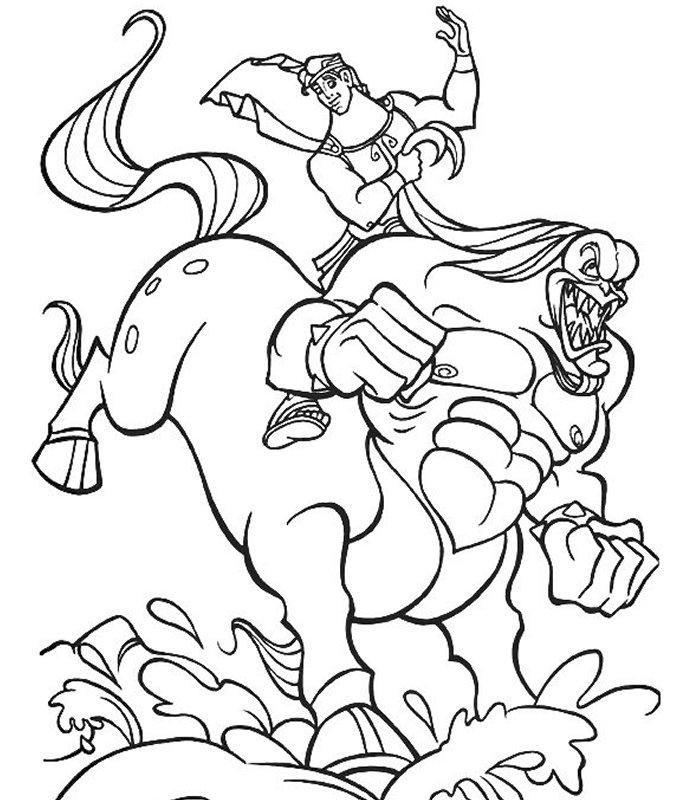 Ercole 2 disegni per bambini da colorare for Cip e ciop immagini da colorare
