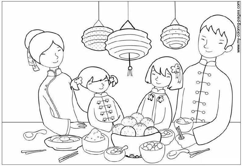Colorare sei in home categorie varie famiglia disegni famiglia 1
