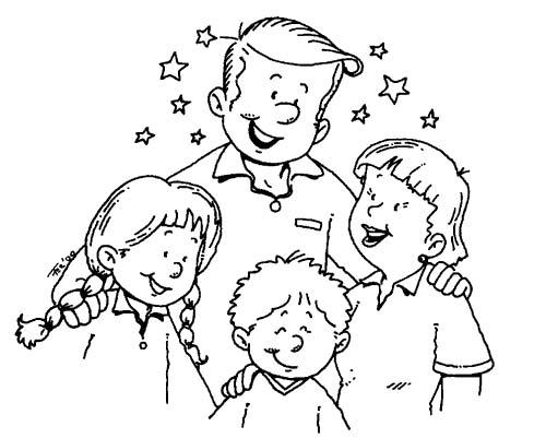 Famiglia 2 Disegni Per Bambini Da Colorare