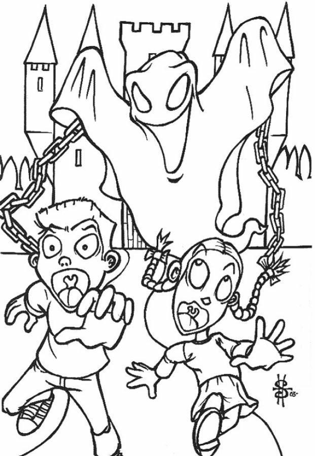Fantasmi disegni per bambini da colorare for Fantasmi disegni da colorare