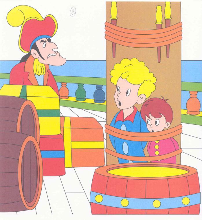 Fiaba peter pan 2 disegni per bambini da colorare for Disegni peter pan