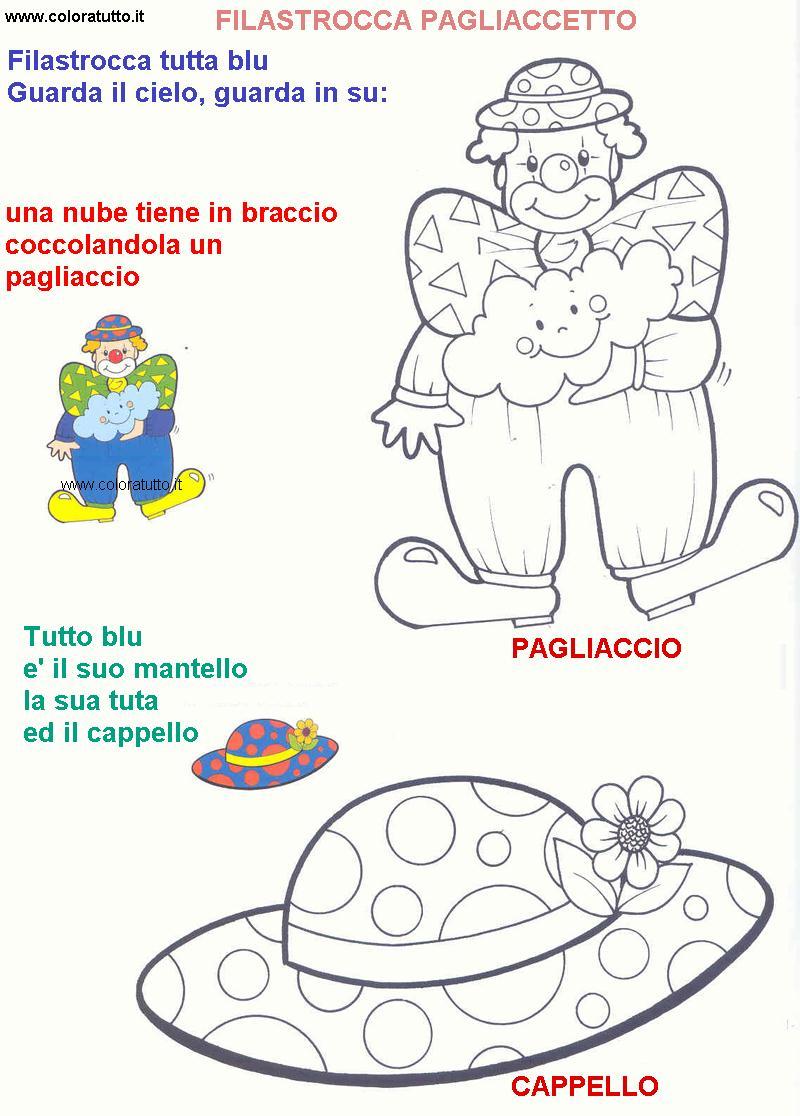 Filastrocche disegni per bambini da colorare for Lepre immagini da stampare
