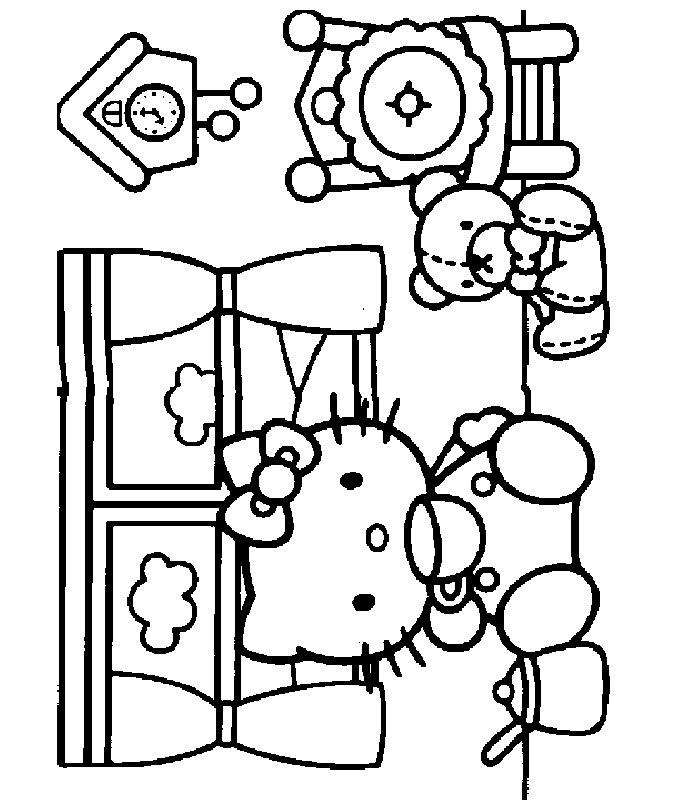 DISEGNI HELLO KITTY 2, Disegni Per Bambini Da Stampare E