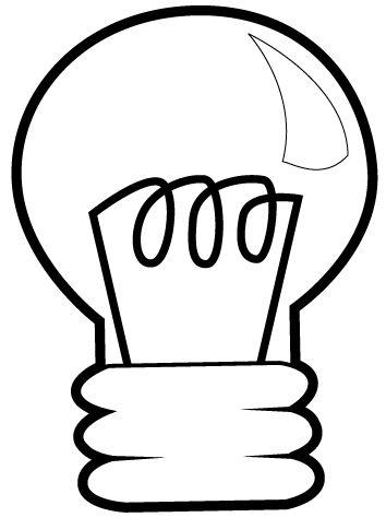 Lampadine Disegni Per Bambini Da Colorare