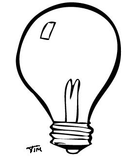 Lampadine 2 Disegni Per Bambini Da Colorare