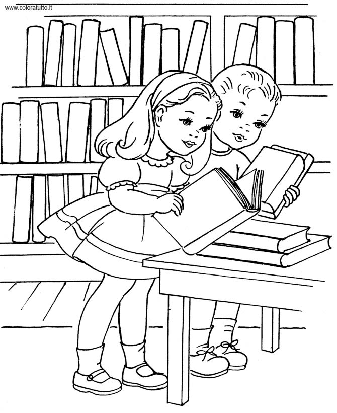 Libri disegni per bambini da colorare - Immagini di colorare le pagine del libro da colorare ...