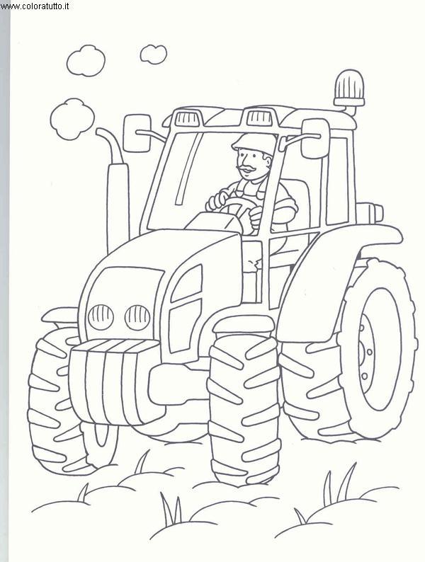 Disegni Da Colorare Per Bambini Escavatori.Mezzi Pesanti Disegni Per Bambini Da Colorare