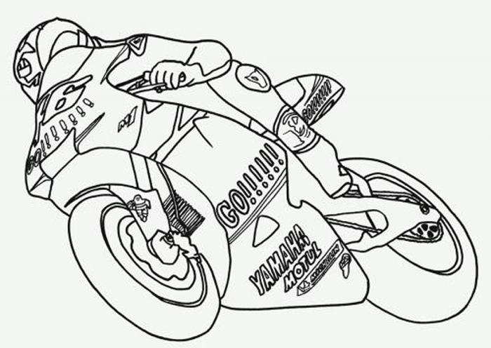 Moto 3 disegni per bambini da colorare for Immagini squali da stampare