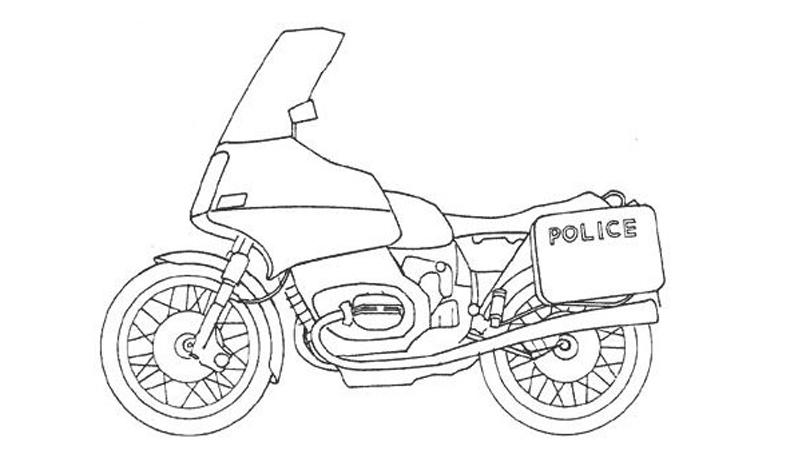 Moto 3 Disegni Per Bambini Da Colorare