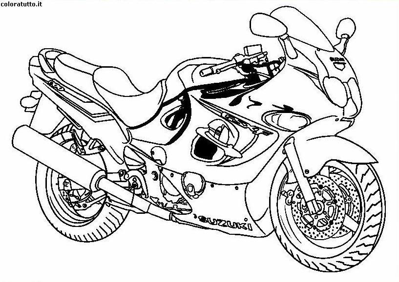 half off 2a022 ce3ac Disegni Da Colorare Moto Di Valentino Rossi
