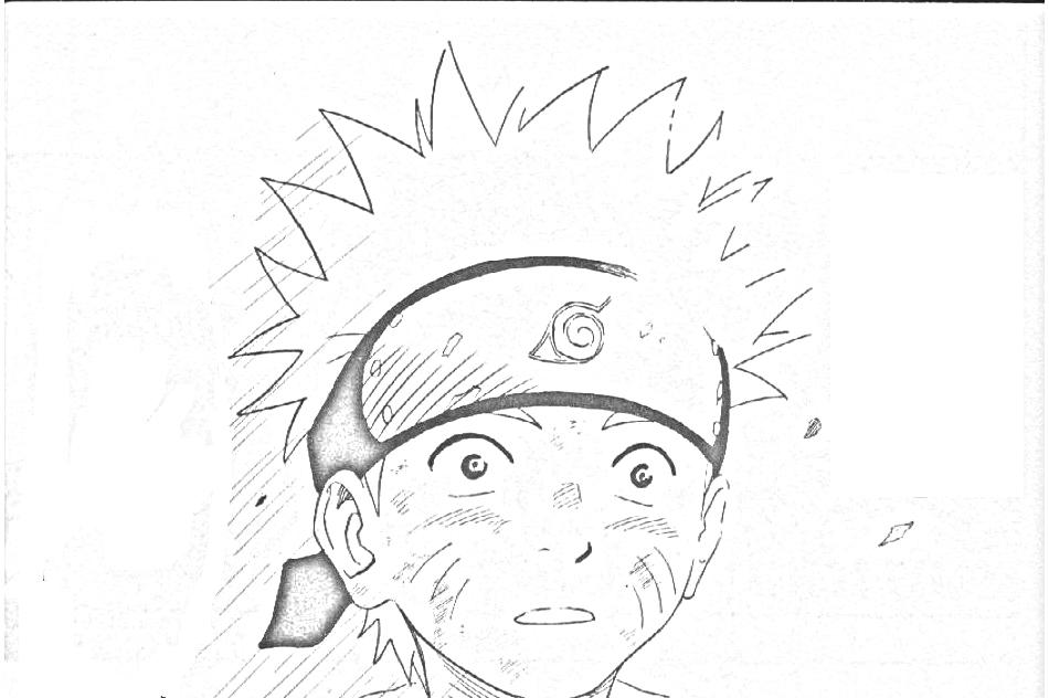 Naruto disegni per bambini da colorare for Immagini di disegni facili