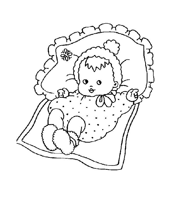 Conosciuto Nascita 2, Disegni per bambini da colorare KW34
