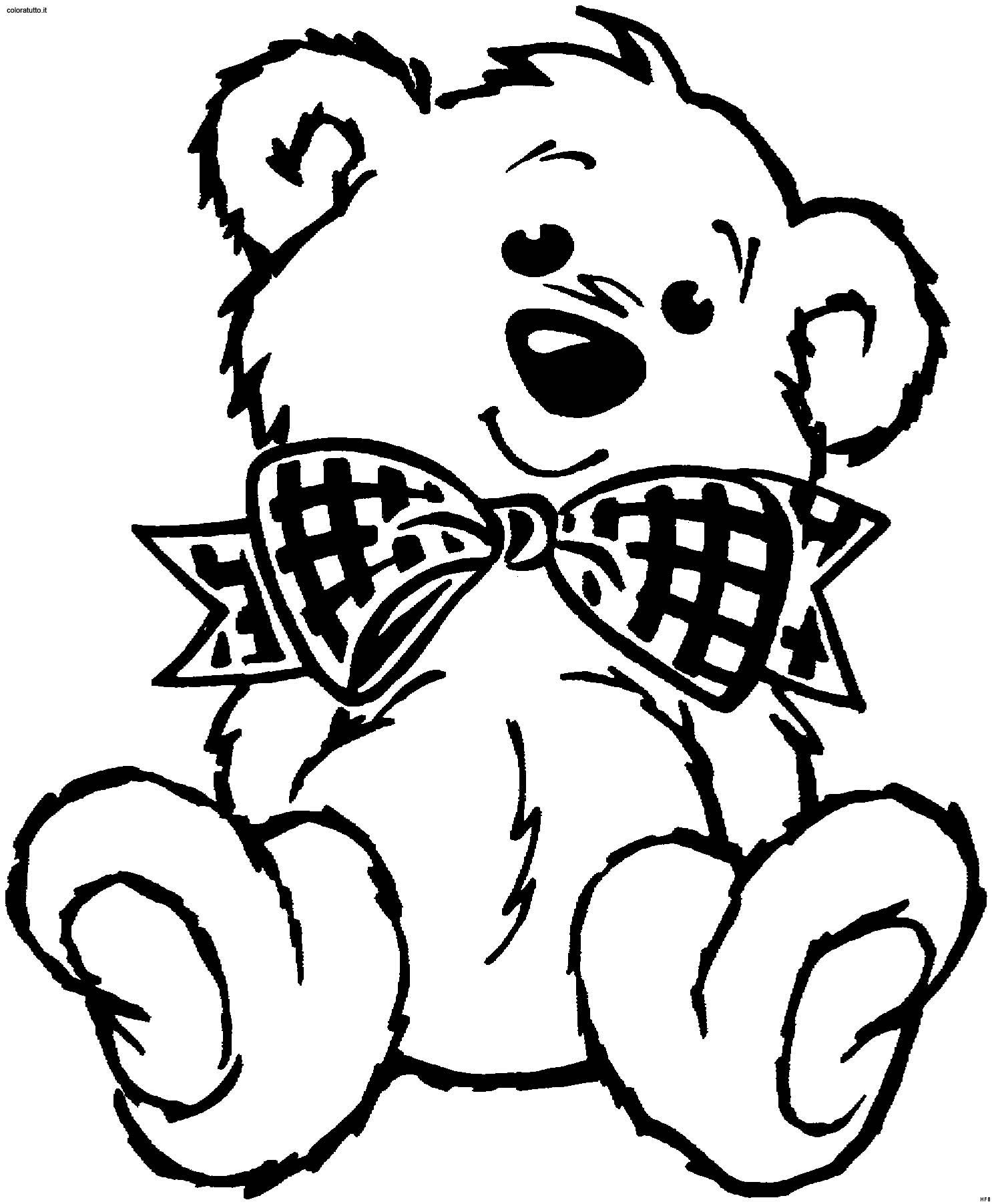 Orsi 24 disegni per bambini da colorare - Orsi polari pagine da colorare ...