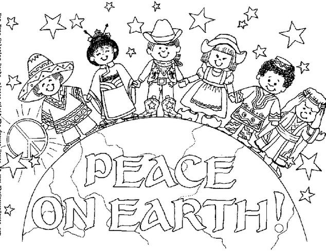 Dibujo De Nacionalidades Para Colorear: Pace 14, Disegni Per Bambini Da Colorare