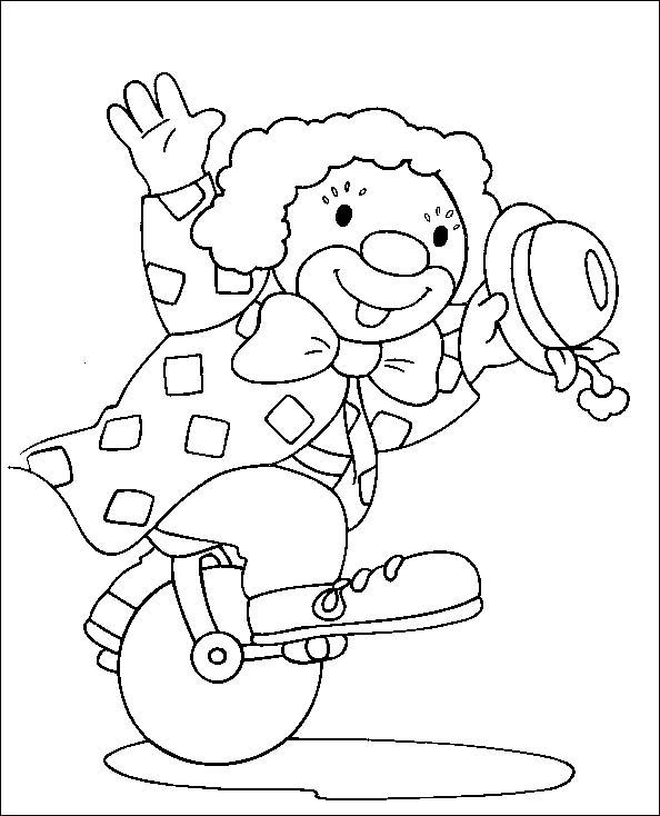 Pagliacci 7 Disegni Per Bambini Da Colorare