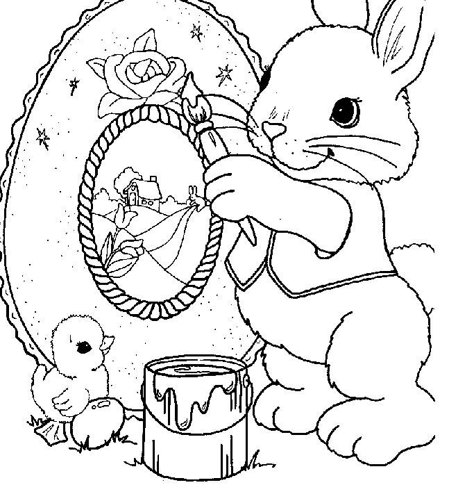 Pasqua disegni per bambini da colorare for Disegni da colorare di pasqua