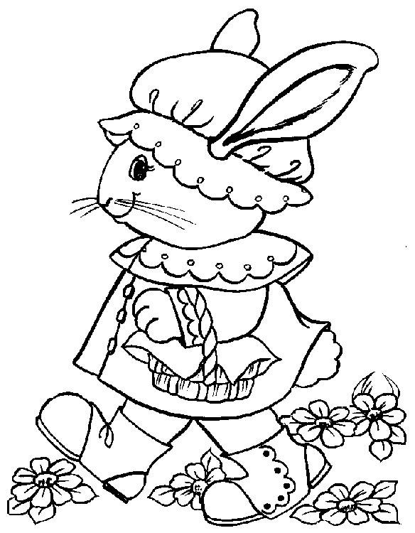 Pasqua disegni per bambini da colorare for Bicicletta immagini da colorare