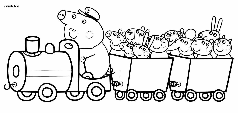 Peppa Pig 3 Disegni Per Bambini Da Colorare