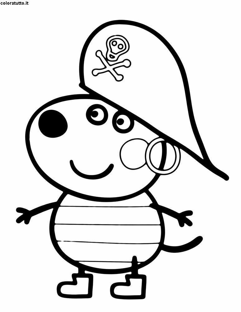 Disegno Di Peppa Pig Da Colorare.Peppa Pig Disegni Per Bambini Da Colorare