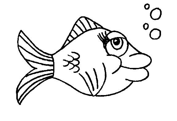 Pesci Disegni Per Bambini Da Colorare