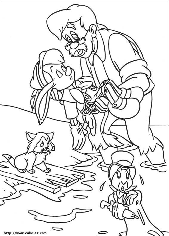 Pinocchio disegni per bambini da colorare - Immagini di aquiloni per colorare ...