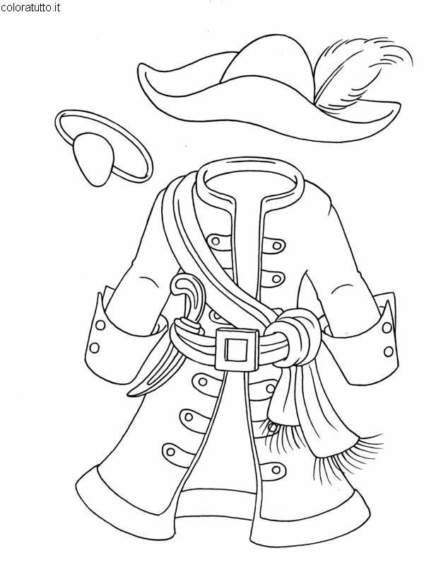 Pirati Disegni Per Bambini Da Colorare