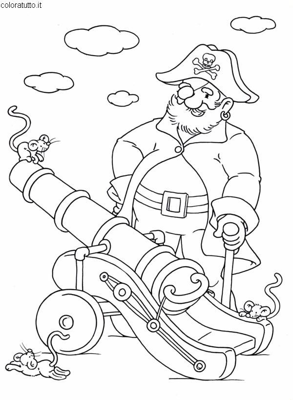 Pirati 2 Disegni Per Bambini Da Colorare