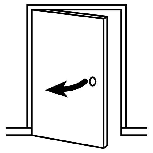 Disegni pittogrammi 5 disegni per bambini da stampare e - Aprire una porta senza chiavi ...