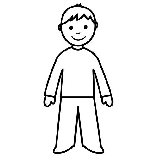Pittogrammi 9, Disegni per bambini da colorare