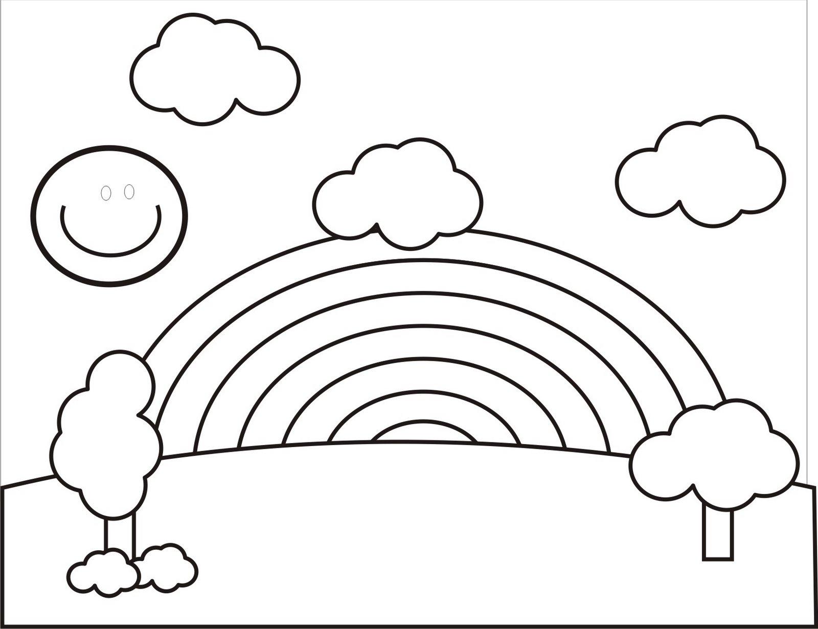 Primavera disegni per bambini da colorare for Paesaggi facili da disegnare