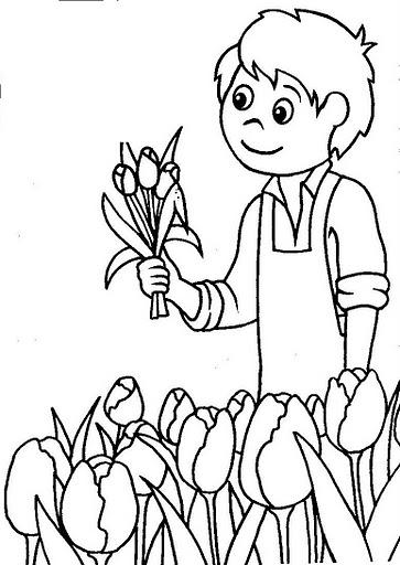 Primavera 23 disegni per bambini da colorare for Cedro agitare disegni per la casa