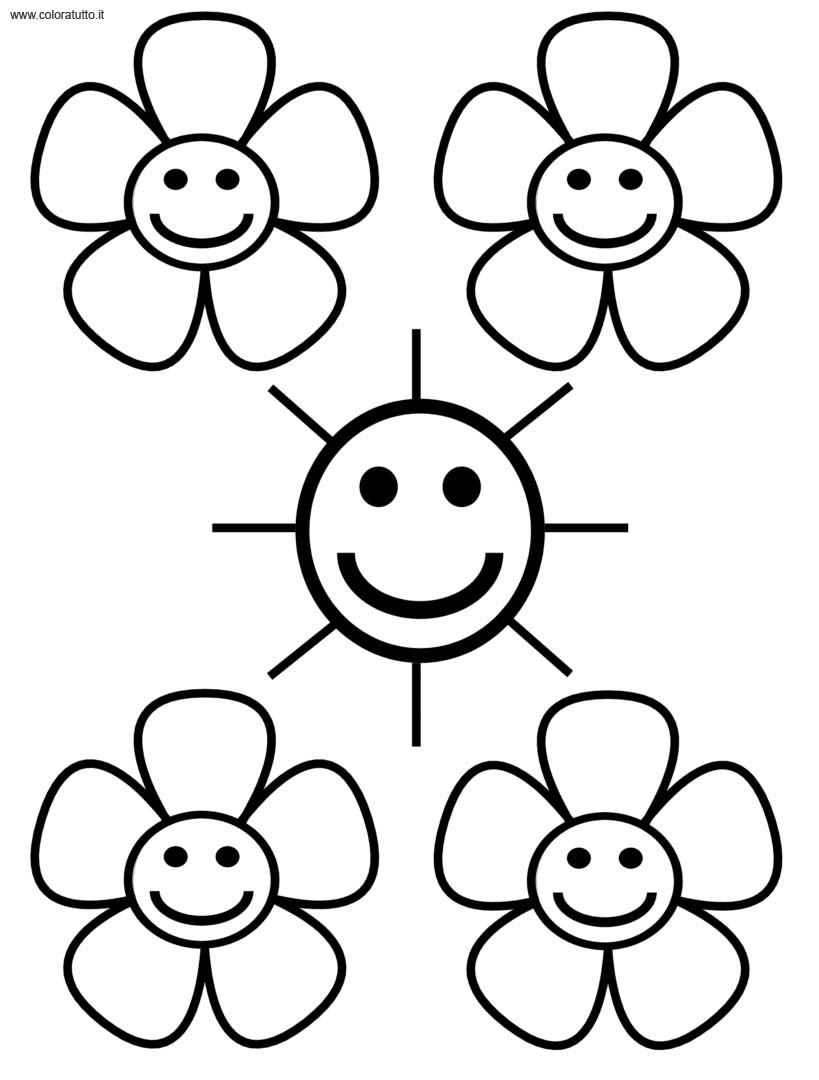 Primavera 28 disegni per bambini da colorare for Immagini sulla primavera da stampare e colorare