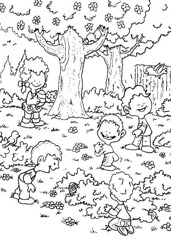 Primavera 45 Disegni Per Bambini Da Colorare