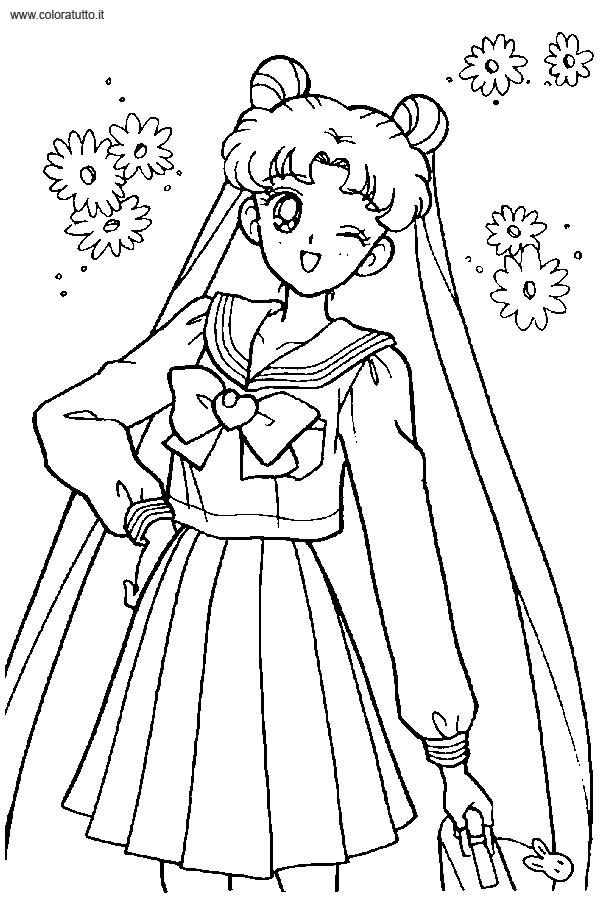 Sailor Moon Disegni Per Bambini Da Colorare