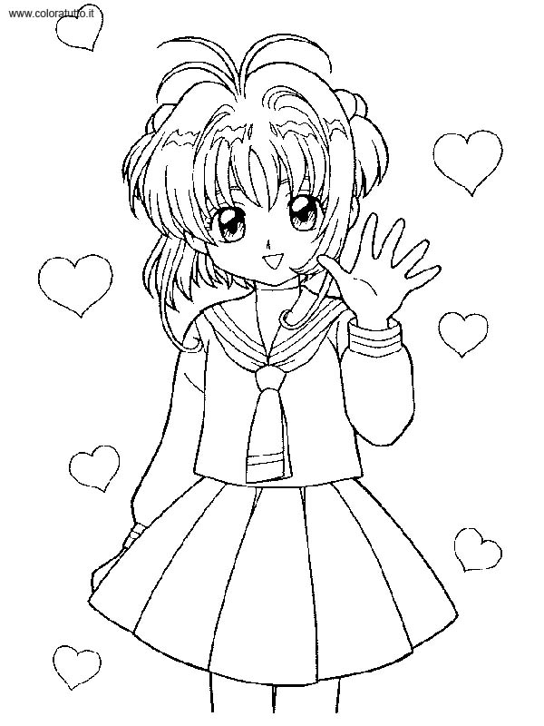 Sailor Moon 2 Disegni Per Bambini Da Colorare