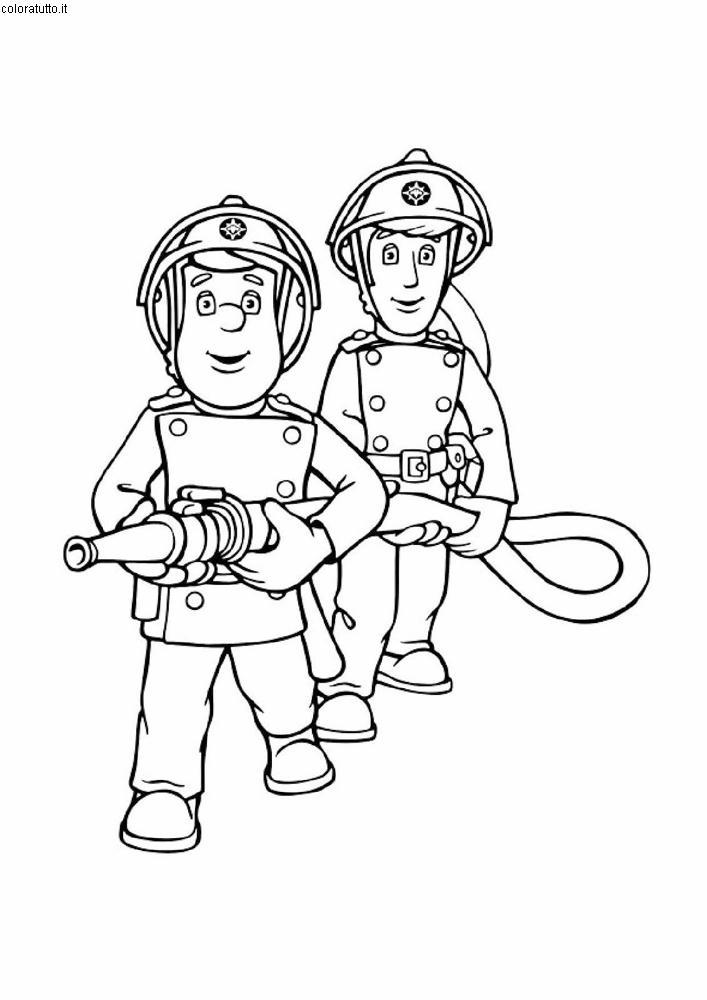 Sam pompiere disegni per bambini da colorare - Bambino samuel pagina da colorare ...