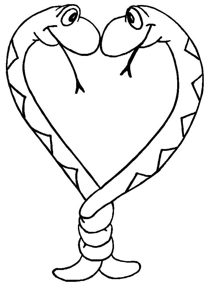 Serpenti disegni per bambini da colorare for Immagini fedi nuziali da stampare