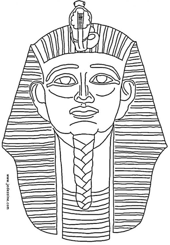 Egyptische Mandala Kleurplaat Sfinge Disegni Per Bambini Da Colorare
