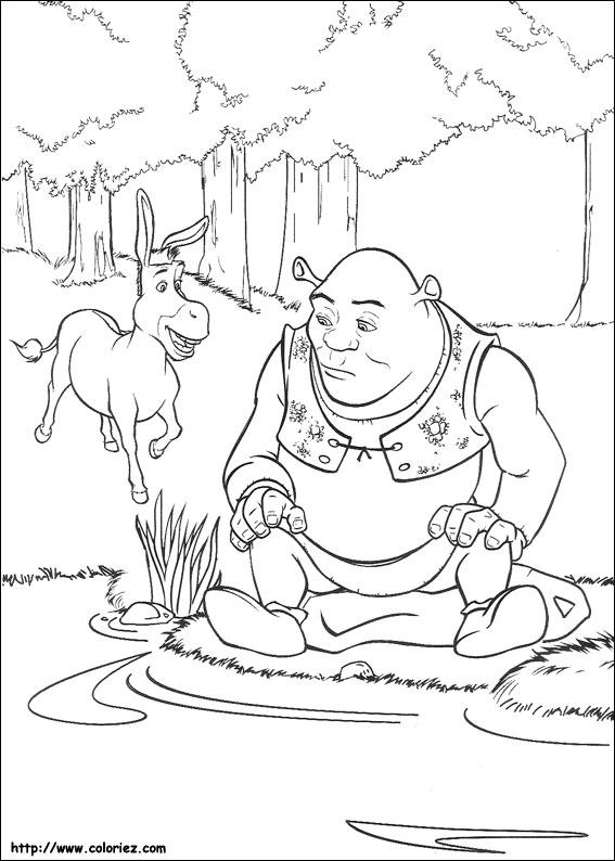 Shrek Disegni Per Bambini Da Colorare