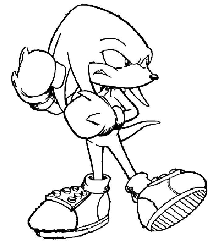 Sonic 2 Disegni per bambini da