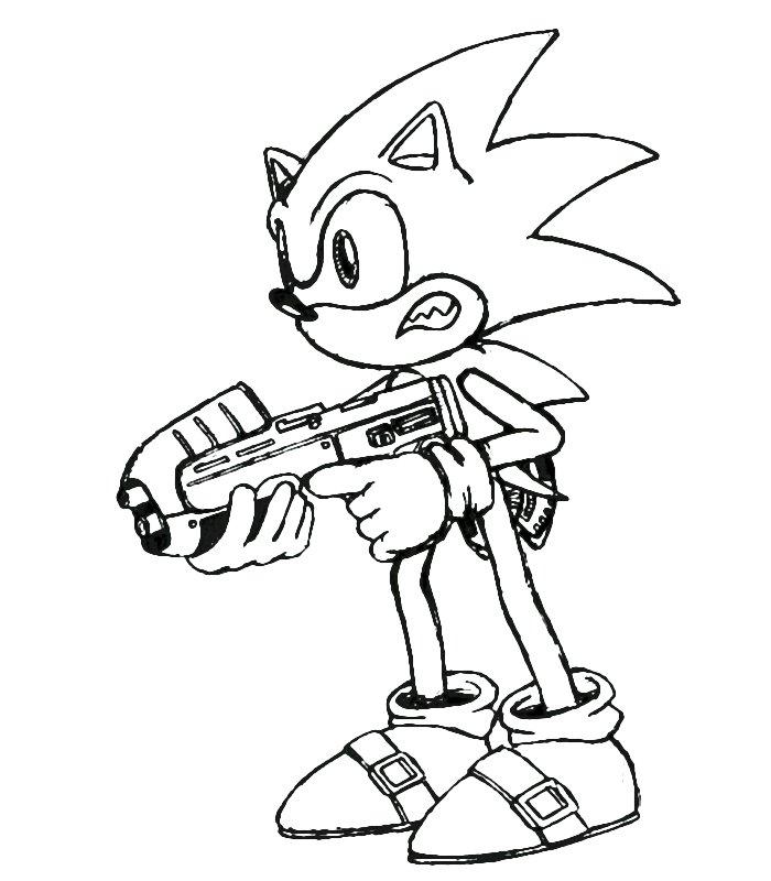 Sonic 2 Disegni Per Bambini Da Colorare
