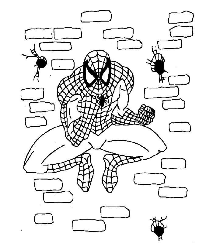 Spiderman 3, Disegni Per Bambini Da Colorare