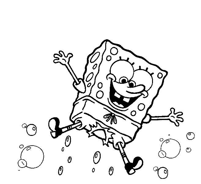 Spongebob disegni per bambini da colorare for Spongebob da disegnare