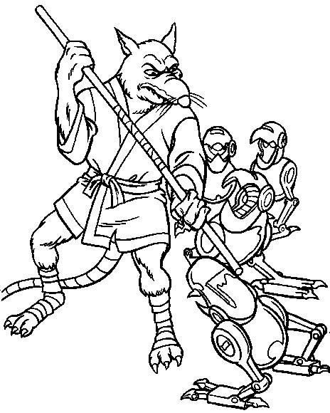 Tartarughe Ninja Disegni Per Bambini Da Colorare