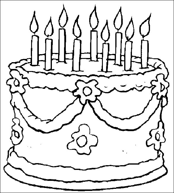 Disegni Torte