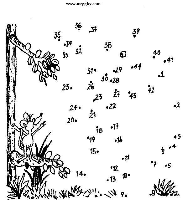 Unisci e colora 33 disegni per bambini da colorare - Unire i numeri dei punti ...